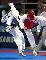 Twio momdolyo en Taekwondo